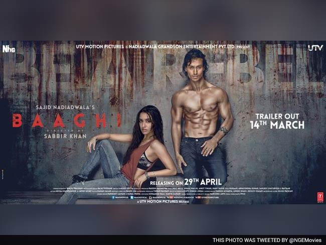 تحميل فيلم الاكشن الرومانسي الهندي Baaghi 2016 مترجم