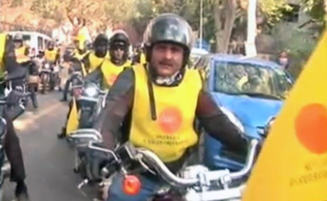 Bikers Rally In Delhi