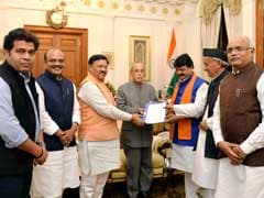 BJP Demands President's Rule In Uttarakhand