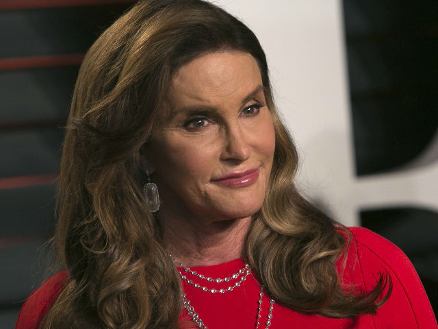 Caitlyn jenner photographed at the vanity fair oscar party image