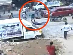 On Camera, Man Hacked To Death, Wife Attacked As People Watch