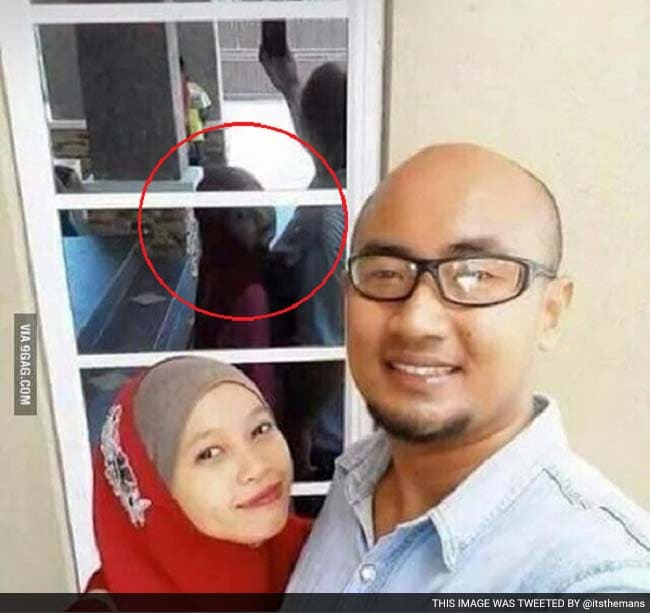 Everyone's Freaking Out Over This Couple's Creepy Selfie ...