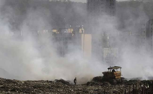 A Burning Mountain Of Trash In Mumbai Fuels Middle-Class Outcry