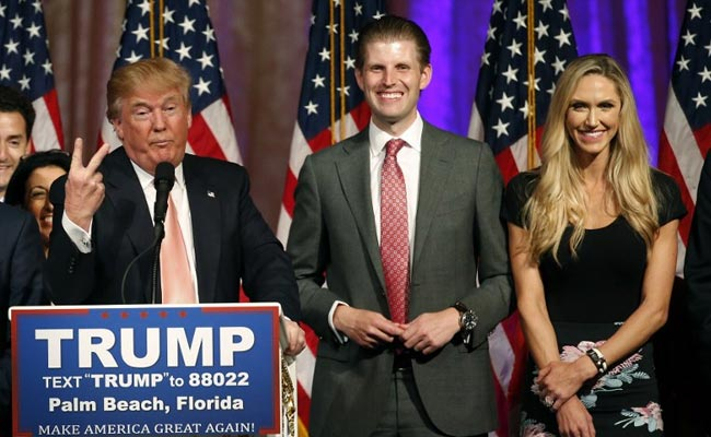 Donald Trump's Son Eric And His Wife Expect First Child In September