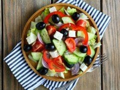 Keeping it Simple: The Secret to a Great Greek Salad