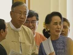 Myanmar Set To Swear In First Elected Civilian President In Decades