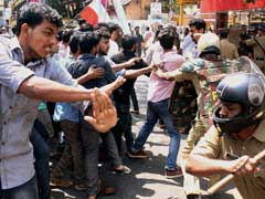 Hyderabad University Teachers On Mass Leave Against Police Action