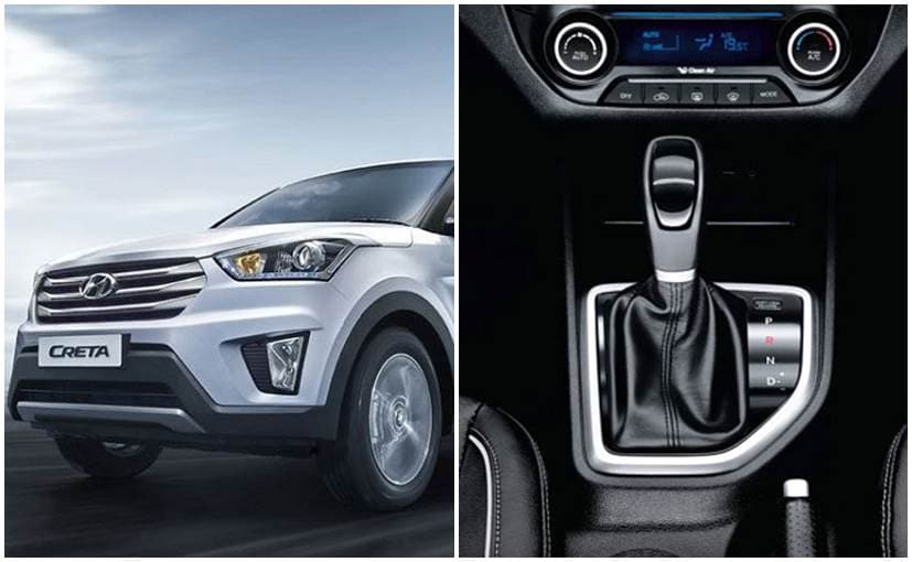 Hyundai Creta Petrol Automatic Launched; Priced at Rs. 12 ...