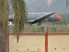 Indian Air Force Plane Tyre Bursts During Landing At Dehradun Airport