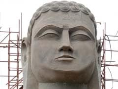 108-Ft Tall Jain Teerthankar Idol Enters 'Guinness Records'
