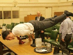Justin Trudeau is Making Everyone Else Look Bad in Pic of Him Doing Yoga