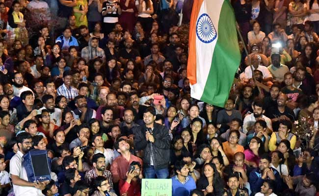 Kanhaiya Kumar Returns To JNU With Call For Azaadi: 'Freedom IN India'