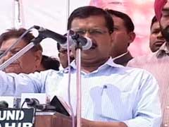Kejriwal, Not Mayawati, Campaigns On Kanshi Ram's Birthday In His Village