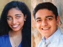 Two Indian-Americans Win First Place In Science Contest