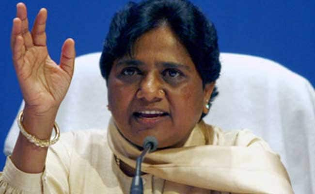 BJP Spreading 'Religious Fundamentalism', Says Mayawati