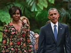 US First Lady Wears 'Kashmiri Gown' For Cuba Dinner