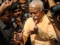 Can't Force People To Chant 'Bharat Mata Ki Jai': RSS Chief Mohan Bhagwat
