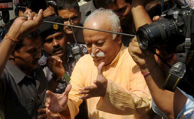 Can't Force People To Chant 'Bharat Mata Ki Jai': RSS Chief Mohan Bhagwat