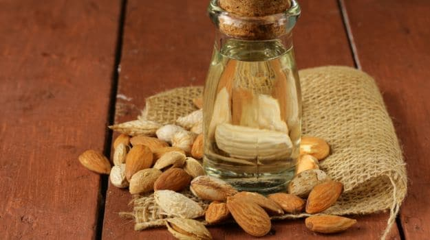 new almond oil