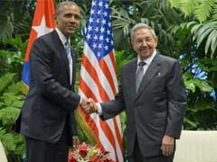 Obama And Castro Meet In Pivotal Moment In U.S.-Cuba Thaw