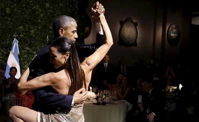 President Obama Dances the Tango in Argentina - And Into Our Hearts