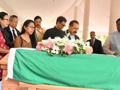 Thousands Bid Tearful Farewell To Former Lok Sabha Speaker PA Sangma