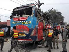 At Least 16 Killed, 24 Injured In Bus Blast In Pakistan's Peshawar