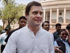 Centre Not Interested In Supporting Andhra Pradesh's Aspirations: Rahul Gandhi