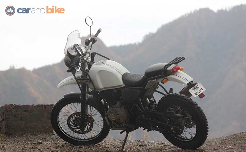 royal enfield himalayan first ride review ndtv carandbike. Black Bedroom Furniture Sets. Home Design Ideas