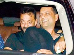 Sanjay Dutt Parties With His Old Friend Over The Weekend