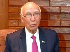 Pakistan's Sartaj Aziz Says He's Visiting India Next Month, Could 'Defuse Tension'