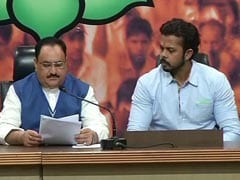 Cricketer Sreesanth Joins BJP As Party Eyes Young Voters In Kerala
