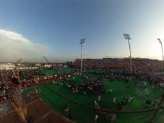 360-Degree View Of Sri Sri Event And Amazing Stage