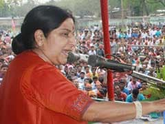 Good Relations To Help Resolve Influx From Bangladesh: Sushma Swaraj