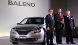 Made-in-India Suzuki Baleno Launched in Japan