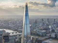 Daredevil Jumps Off London's Tallest Building With Parachute