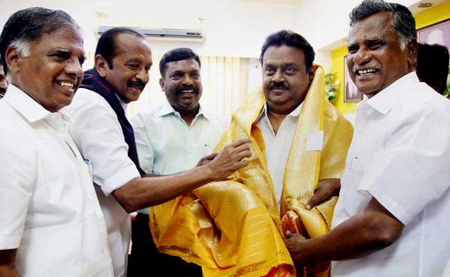 बीजेपी ने केंद्र में मंत्री पद, तो डीएमके ने विजयकांत को दिया था 500 करोड़ का ऑफर : वाइको