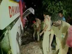 4 Hyderabad Students Killed, 30 Injured As Drunk Driver Flips Over Bus