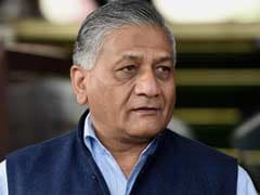 Shifting NIT Out Of Srinagar Is No Solution, Says Union Minister VK Singh