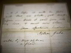 Whitman Letter To Dying Soldier's Family Uncovered At The National Archives