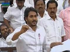 YSR Congress Members Stage Walkout Over Loan Waiver Issue in Andhra Pradesh Assembly