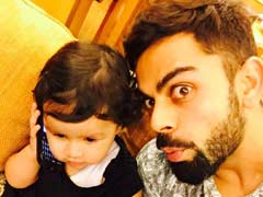 Virat Kohli's Adorable Selfie With Dhoni's Daughter Ziva Is Going Viral