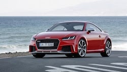 2017 Audi TT RS Unveiled at Beijing Motor Show