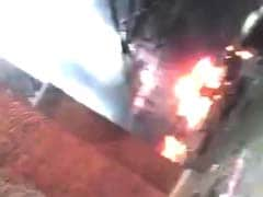 Mob Horror On Camera: Car Explosion Saved Haryana Minister's Family