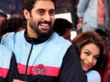 Abhishek Bachchan Says Aishwarya Rai 'Loves Unconditionally'