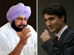 Amarinder Singh Writes To Canadian PM Over Cancelled Public Meetings