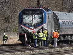 Amtrak Train Struck Backhoe At 106 Mph: 2 Killed On Track
