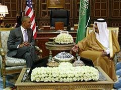 Barack Obama Meets Saudi King With Iran On Agenda