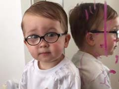 Holy Lipstick! It Was Batman, Says 2-Year-Old After Scribbling on Mirror