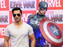 There is No Better 'Role Model' Than Captain America, Says Varun Dhawan